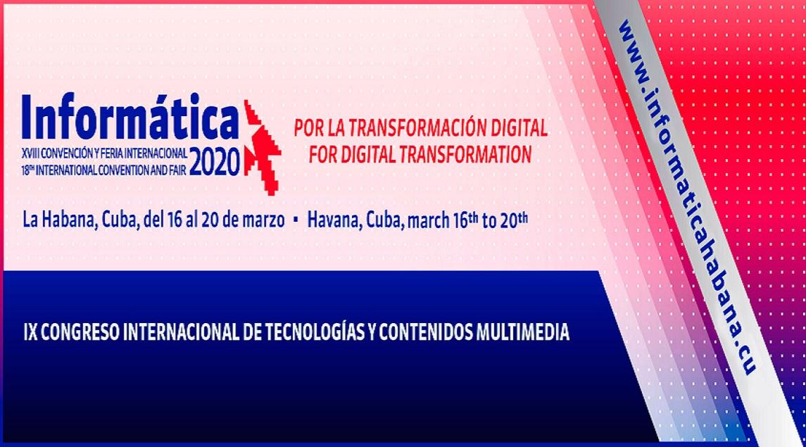 Convocatoria IX Congreso Internacional de Tecnologias y Contenidos Multimedia